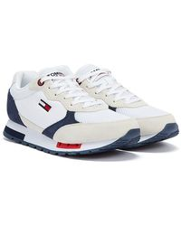 Tommy Hilfiger Tommy Jeans Retro Baskets blanches pour hommes