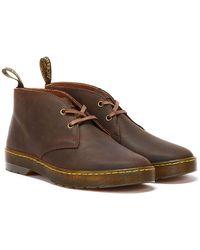 Dr. Martens Dr. Martens Cabrillo Crazy Horse Braune Schuhe