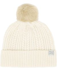 Joules Bobble Cream Hat - Neutro