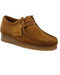 Clarks Originals Wallabee Mens Cola Shoes - Brown