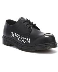 Dr. Martens Dr. Martens Sxp 1925 Sex Pistols Black Smooth Shoes
