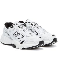 New Balance 452 Black / Trainers - White