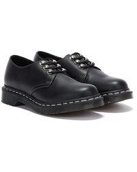 Dr. Martens Dr. Martens 1461 Hardware Virginia Chaussures Noires Pour