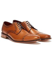 Loake Foley Mens Formal Lace Up Shoes - Brown