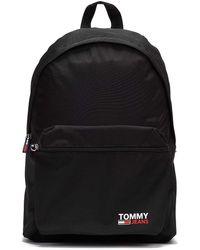 Tommy Hilfiger Tommy Jeans Campus Schwarzer Rucksack