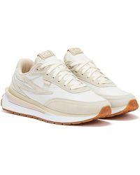 Fila Renno Beige / White Sneaker - Natur