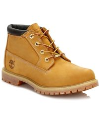 Timberland - Womens Wheat Ek Nellie Leather Boots - Lyst