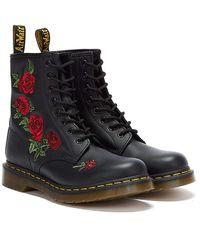 Dr. Martens 1460 Vonda Boots - Black