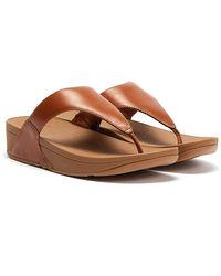 Fitflop Lulu Braune Sandalen