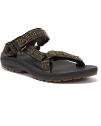 Teva Winsted Bamboo Mens Olive Sandals - Green