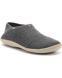 TOMS Rodeo Mens Forged Iron Grey Slippers - Gray