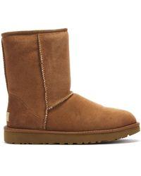 UGG Classic Short Ii (amberlight) Women's Boots - Brown