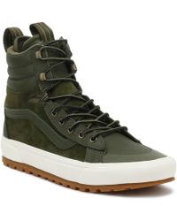 Vans - Sk8-hi Mte Dx Grape Leaf Green Boots - Lyst