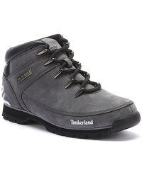 Timberland Euro Sprint Nubuck Mens Grey Boots