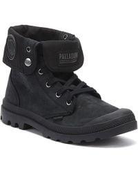 Palladium Pampa Baggy Nubuck Mens Black Boots
