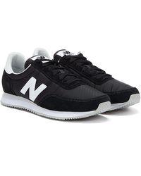 New Balance 720 Baskets Noires / Blanches Pour