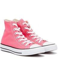 Converse All Star Hi Hyper Rosa Sneakers - Pink
