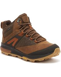 Merrell Zion Mid Gore -tex® Mens Toffee Boots - Brown