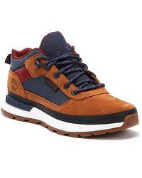 Timberland Field Trekker Low Mens Brown / Blue Boots