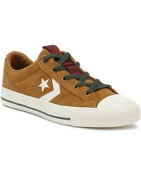591b41a6fe81 Converse Burnt Caramel Ct All Star Ox Leather Trainers for Men - Lyst