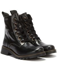 Fly London Ragi Boots - Black