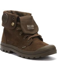 Palladium Pampa Baggy Nubuck Mens Brown Boots