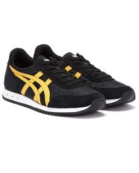 Onitsuka Tiger New York Baskets Noir / Orange Pour