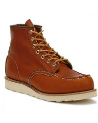 Red Wing Red Wing Oro Legacy 6-Inch Moc Toe Schnürstiefel - Braun