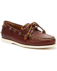 Ralph Lauren Merton Mens Tan Shoes - Brown