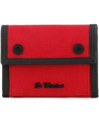 Dr. Martens - Dr. Martens True Red Fine Canvas Utility Wallet - Lyst