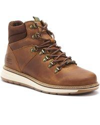 Barbour Letah Mens Cognac Brown Boots