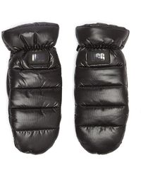 UGG Puff Yeah Mitaines Noires Pour