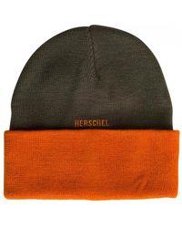 Herschel Supply Co. Rosewell Ivy Green / Orange Beanie - Verde