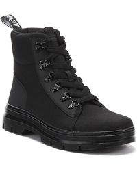 Dr. Martens Dr. Martens Combs Womens Black Mono Boots