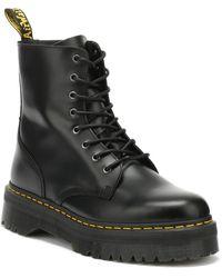 Dr. Martens Dr. Martens Jadon Smooth Womens Black Platform Boots