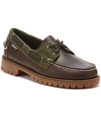 Sebago Ranger Millerain Mens Dark Brown Shoes