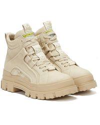 Buffalo Aspha NC Mid Beige Sneakers für - Natur