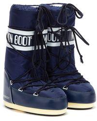 Moon Boot Classic Icon Nylon Boots - Blue