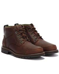 Timberland Larchmont Ii Chukka Dark Boots - Brown