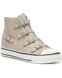 Ash Virgin Leather Pearl Sneakers - Multicolour