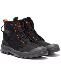 Palladium Pampa Travel Lite Mens Black Boots