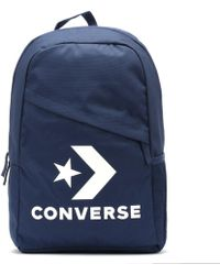 Converse - Navy / White Speed Backpack - Lyst