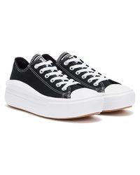Converse Move Platform Ox Baskets Noir / Blanc Pour