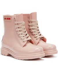 Love Moschino Rain Boots - Pink