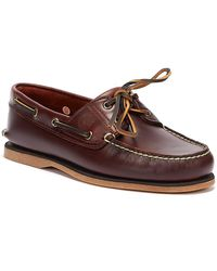 Timberland 21 Boat Rootbeer Sm Boat Shoes - Brown