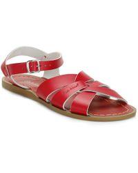 Salt Water Womens Red Original Sandals
