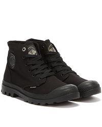 Palladium Pampa Hi Mono Chrome Unisex Boots - Black
