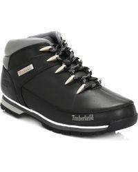 Timberland Euro Sprint Hiker Boots - Black