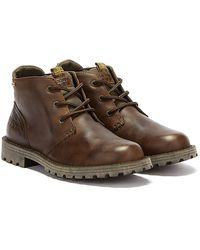 Barbour Pennine Chukka Mens Brown Boots