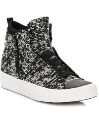Converse - Women´s Selene Winter Knit Hi-top Sneakers - Lyst